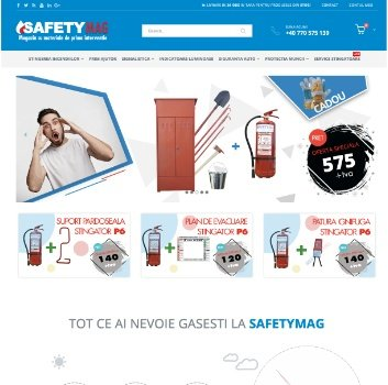 Creare Magazin Online Materiale Stingere Incendii