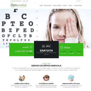 Site de Prezentare Optic Medical